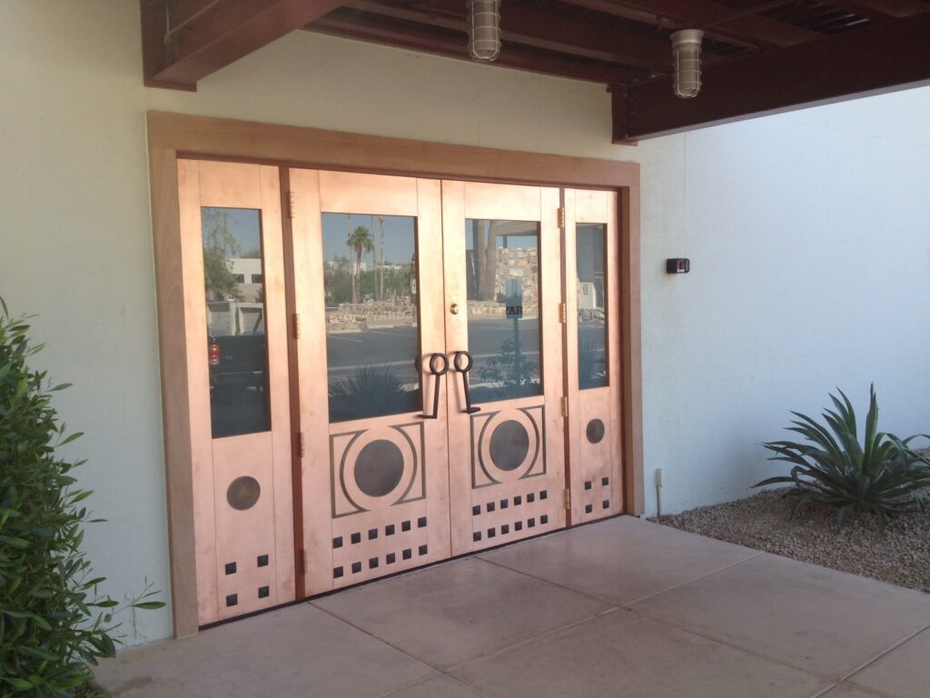 Mirror Works Horn Doors